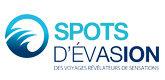 <span style='color:#dd3333;'>SPOTS D'ÉVASION</span>